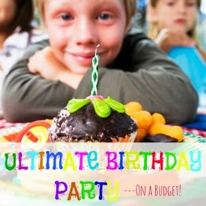 birthday party on a budget