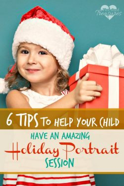 6 Tips to Help Your Child Have An Amazing Holiday Portrait Session