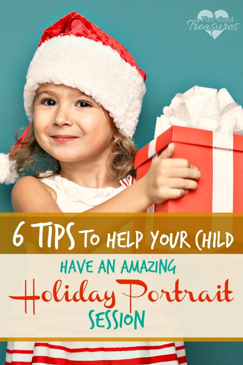 holiday portait session tips with kids