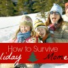 surviving holidays with a laugh