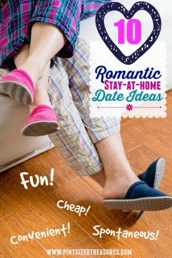 10 Romantic Stay-at-home Date Ideas