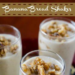 banana nut bread milkshake