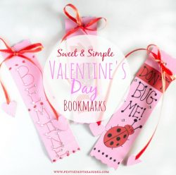 Valentine's Days Bookmarks — Sweet and Simple!