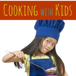kids and cooking