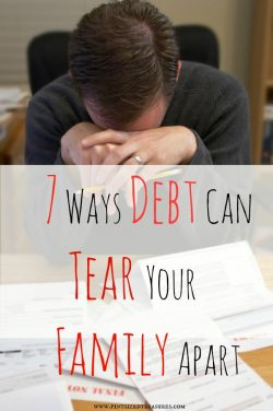 7 Ways Debt Can Tear a Family Apart