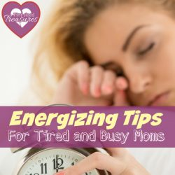energizing tips for moms