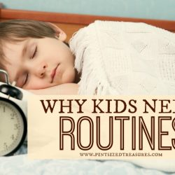 why kids need routines