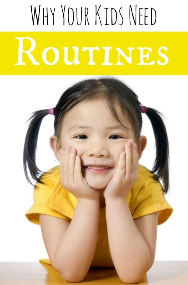 kids need routines