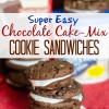 easy chocolate cake-mix cookies