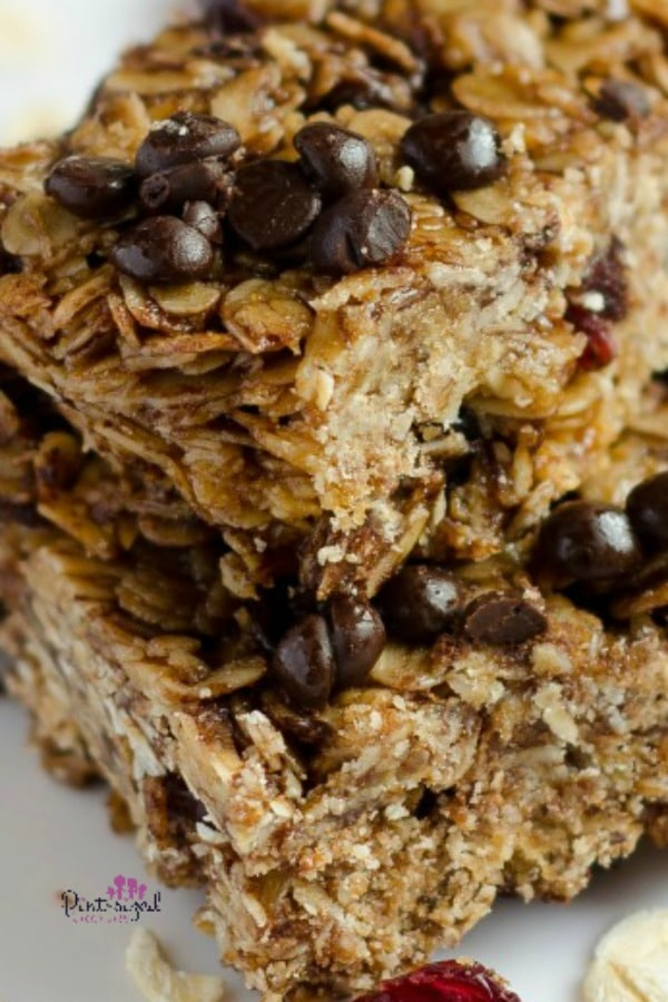 easy cranberry granola bars recipe