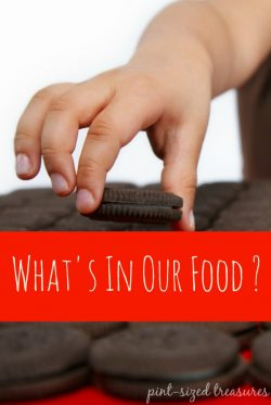 What's in Our Food—Food Facts Up Front