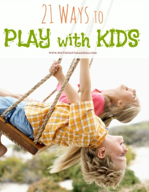 how to play with kids