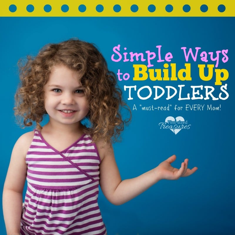 how to build up toddlers
