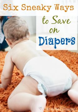 Six Sneaky Ways to Save on Diapers