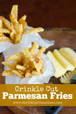 Crinkle Cut Parmesan Fries