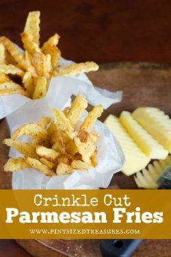 Crinkle Cut Parmesan Fries