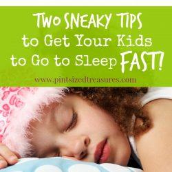 bedtime tips for kids