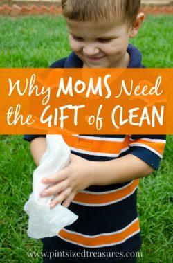 help moms clean