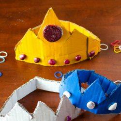 princess crowns craft