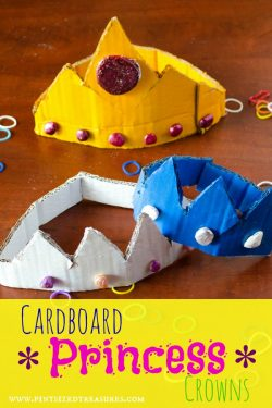 princess crowns craft