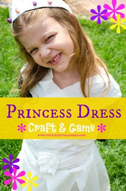 princess dress craft
