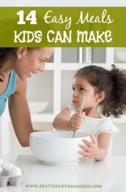 meals kids can cook