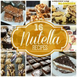 16 Nutella Recipes