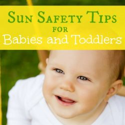 sun safety for babies and toddlers