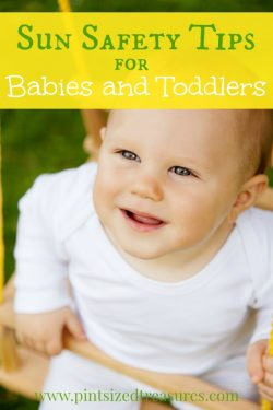 Sun Safety Tips for Babies and Toddlers