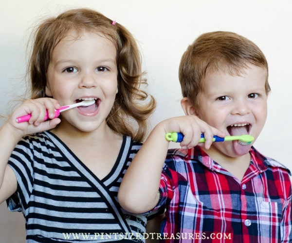 tooth-brushing tips for kids