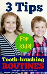 tooth-brushing routines