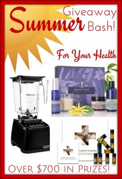 Super Summer Giveaway for Moms! BlendTec Blender, Spa and More!