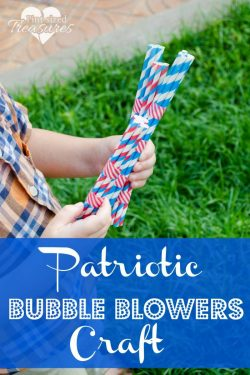 Patriotic Bubble Blowers Craft