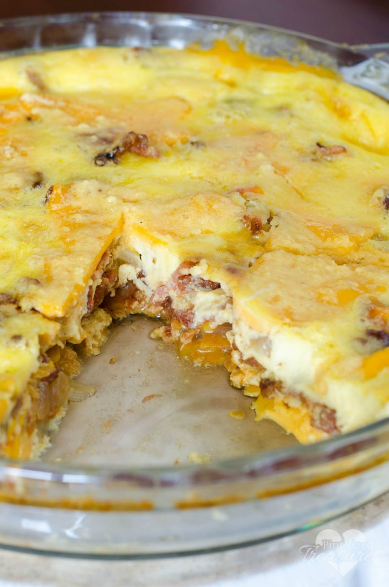 easy cheesy quiche