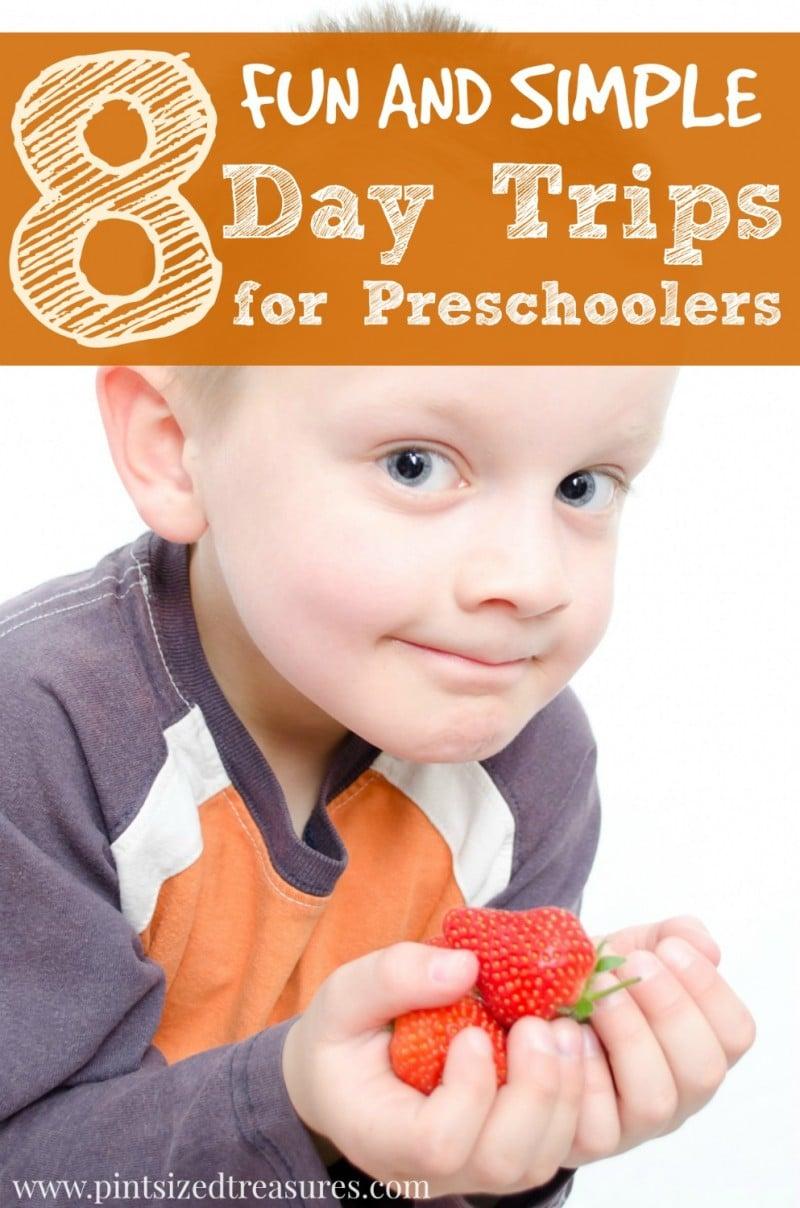 summer day trips for preschoolers