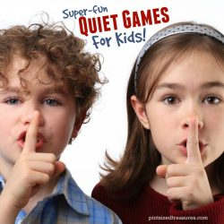 Super-fun Quiet Games For Kids