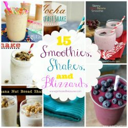 shakes and smoothies recipes