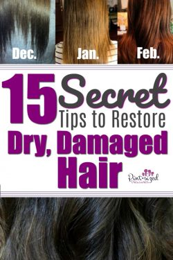 15 Secret Tips to Restore Dry, Damaged Hair