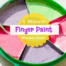 quick and easy finger paint recipe