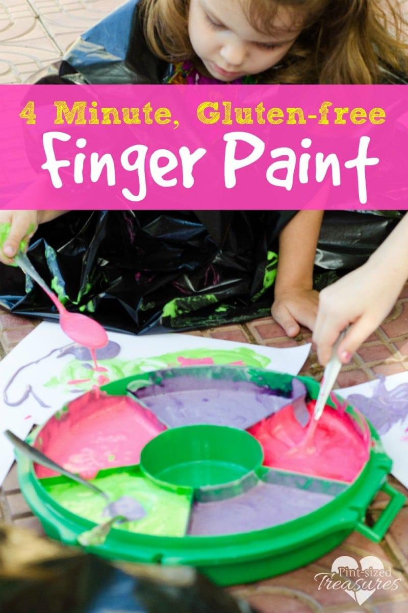 gluten free finger paint