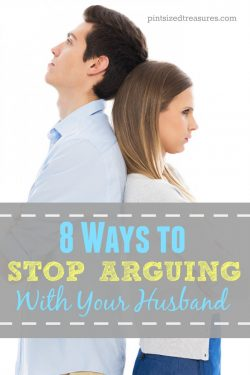 8 Ways to Stop Arguing With Your Husband