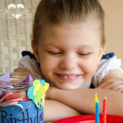 thoughtful birthday activity and craft