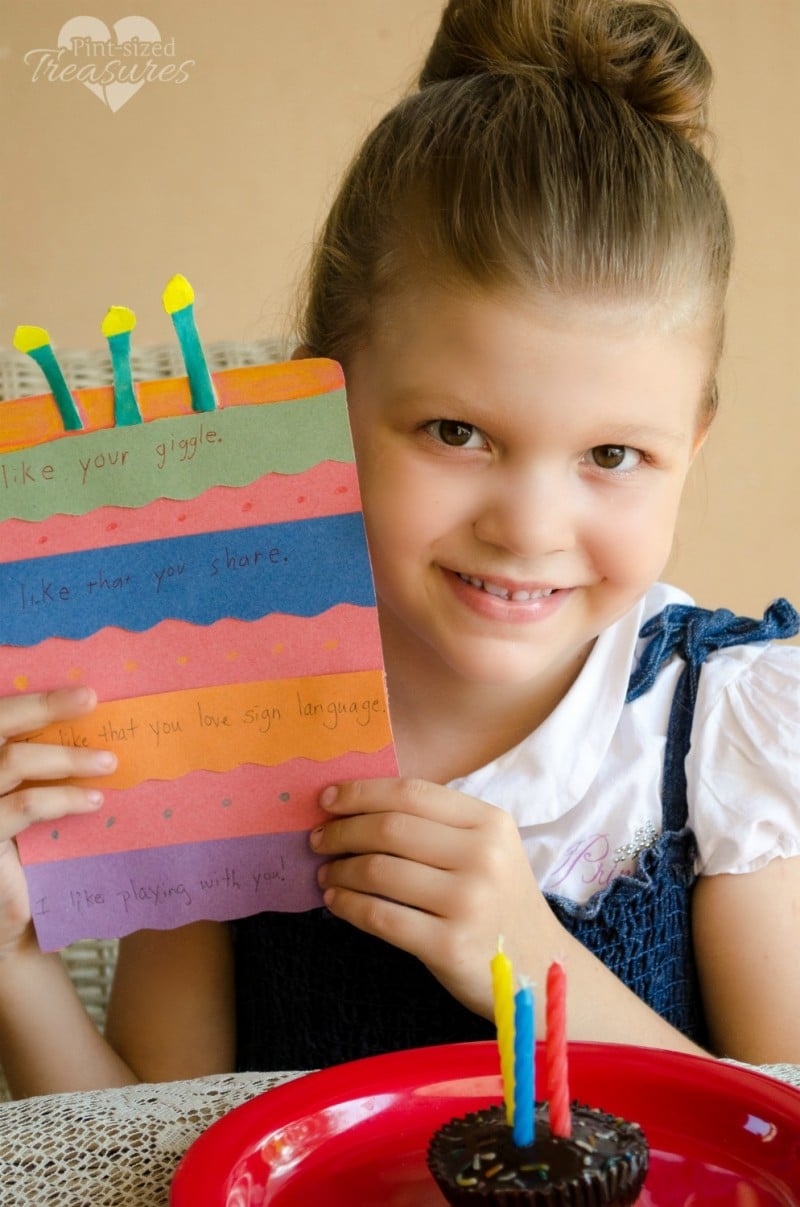 thoughtful birthday craft