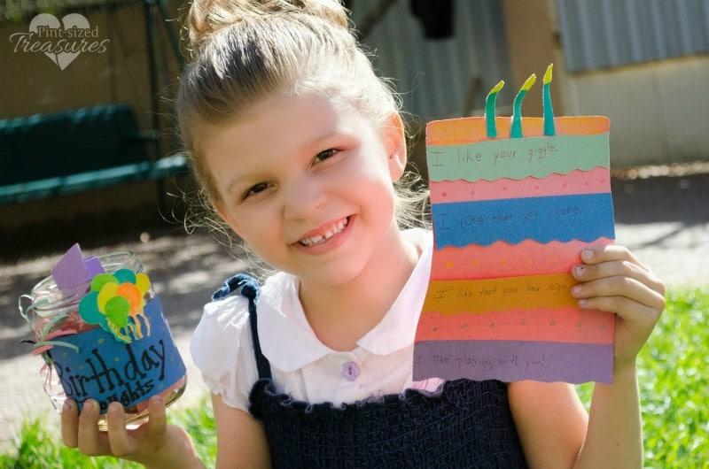 thoughtful birthday activity