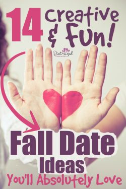 Creative and fun fall date nights are perfect for married couples to enjoy the fall season in a fun, romantic way! #Marriage #datenight #falldates #datenightideas #dateyourspouse #fallideas