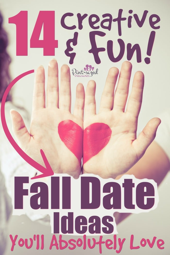 Creative and fun fall date nights are perfect for married couples to enjoy the fall season in a fun, romantic way!