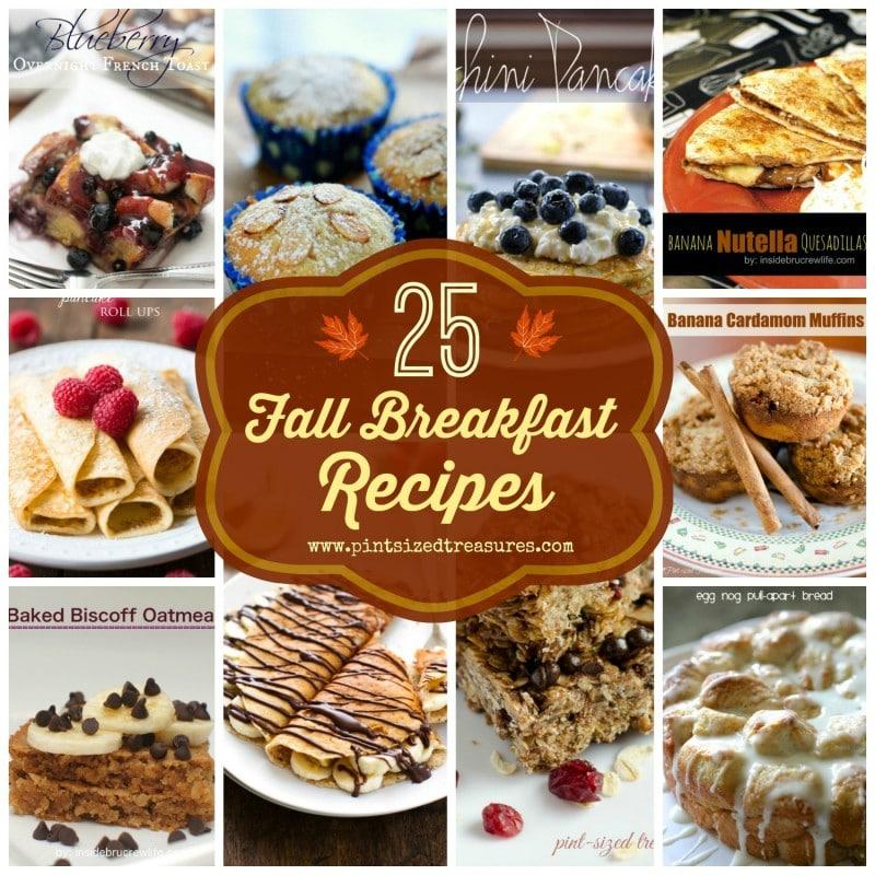 fall breakfast recipes
