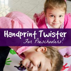 handprint craft for preschoolers