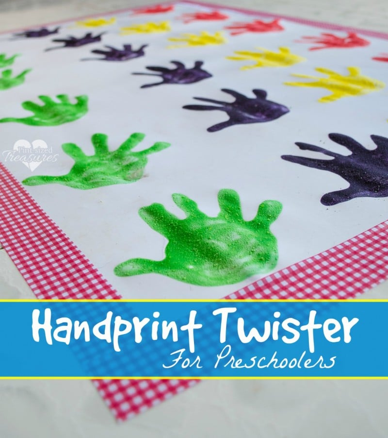 handprint activities for preschoolers