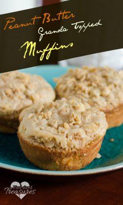 Peanut Butter Granola Muffins